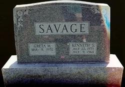 Kenneth Samuel Popeye Savage