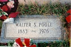 Walter Stone Poole, Sr