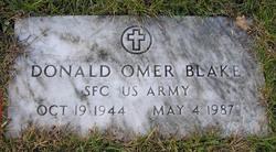 Sgt Donald O Blake