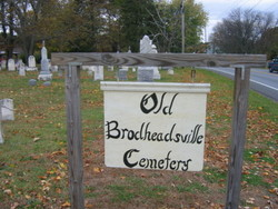 Old Brodheadsville Cemetery