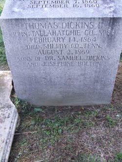 Thomas Dickins, II
