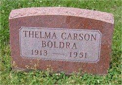 Thelma <i>Carson</i> Boldra