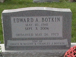 Rev Edward A. Botkin