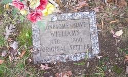 David Lonesome Dave Williams