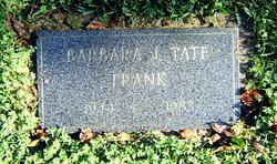 Barbara J. <i>Tate</i> Frank