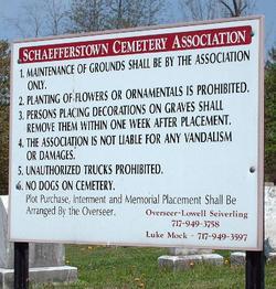 Schaefferstown Cemetery