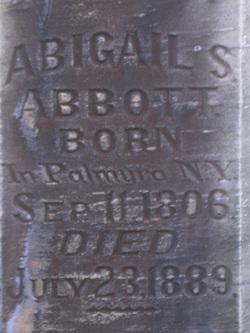 Abigail <i>Smith</i> Abbott