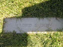 Mildred Dakota <i>Brown</i> Snider
