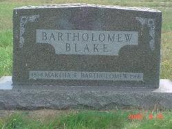 Martha Fidelia Bartholomew