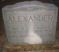 Mary Elizabeth <i>Gore</i> Alexander