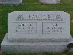 Albert J Factor