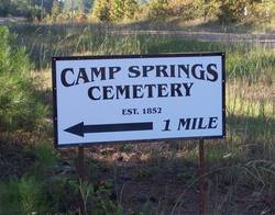 Camp Springs Cemetery
