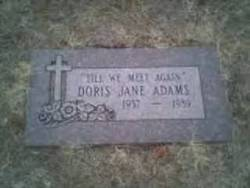 Doris Jane <i>House</i> Adams