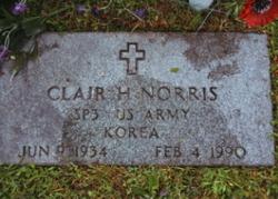 Clair H Norris
