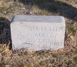 Ira Lester Ackley