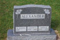 Gilbert Lyle Alexander
