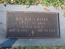 Ben Davis Baker