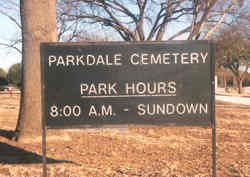 Parkdale Cemetery