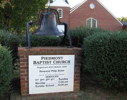 Piedmont Baptist Church Cemetery
