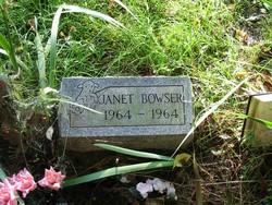 Janet Bowser