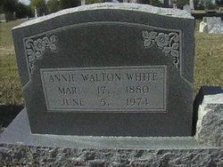 Annie B. <i>Walton</i> White