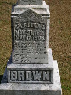 Col Benjamin F Brown