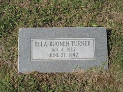 Ella <i>Kuonen</i> Turner