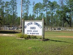 Dry Spring Community Church Cemetery