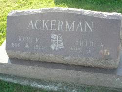 Lillie A. Ackerman