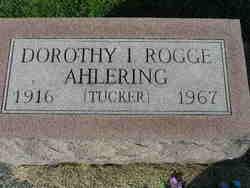 Dorothy I. <i>Rogge</i> Ahlering