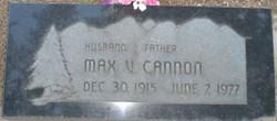Max Vernon Cannon