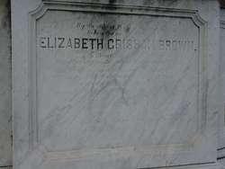 Elizabeth <i>Grisham</i> Brown