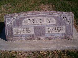 Lunetta Bertha Lunettie <i>Bebb</i> Trusty