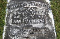 Frances <i>Williams</i> Tarpley