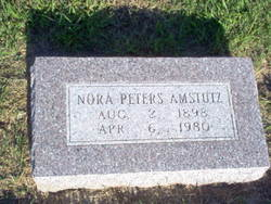 Nora <i>Peters</i> Amstutz