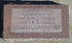 Elijah Thomas McClenahan