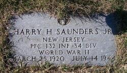 Harry Harmening Saunders, Jr