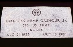 Charles Kemp Bubbie Cashour, Jr