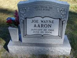 Joe Wayne Aaron