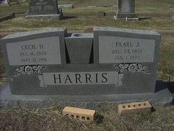 Cecil H Harris