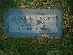 Annabelle <i>Beavers</i> Beavers