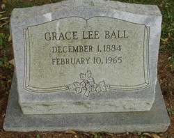 Grace <i>Lee</i> Ball