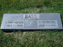 Ruth <i>Moore</i> Bass