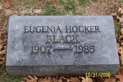 Eugenia <i>Hocker</i> Black