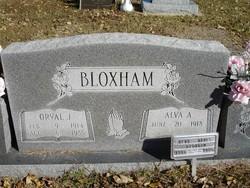 Alva Agnes <i>Carter</i> Bloxham