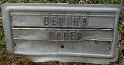 Bertha Baber