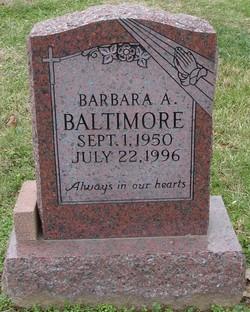 Barbara A. Baltimore