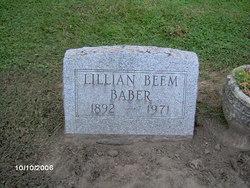 Lillian <i>Beem</i> Baber