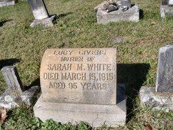 Lucy <i>Givens</i> White