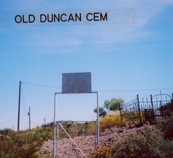 Old Duncan Cemetery